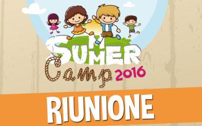 RIUNIONE SUMMER CAMP 2016