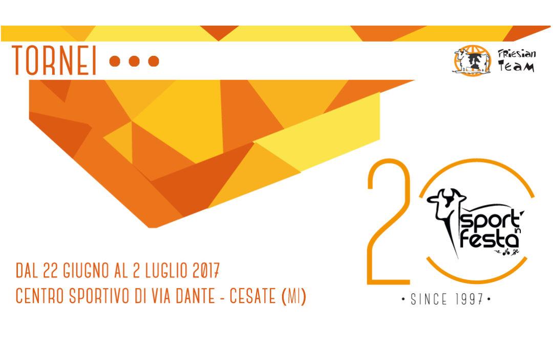 Sport in Festa 2017 – I Tornei