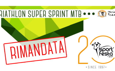 TRIATHLON SUPER SPRINT – RIMANDATA CAUSA MALTEMPO