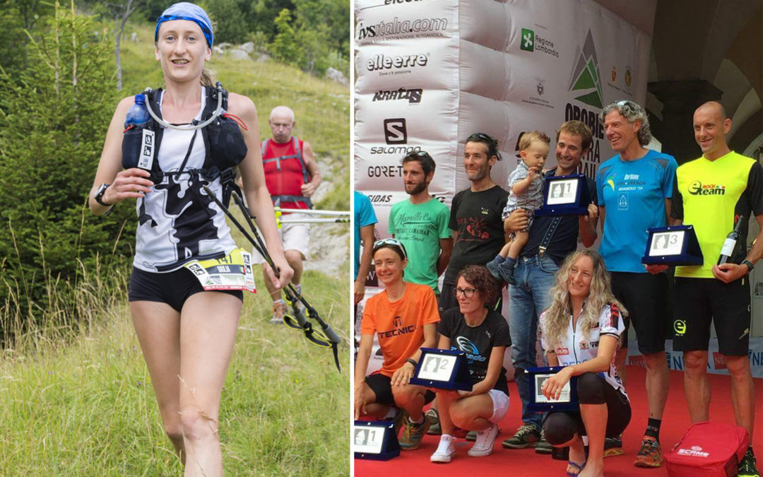 GIULIA SAGGIN CONQUISTA IL PODIO ALL'OROBIE ULTRA TRAIL