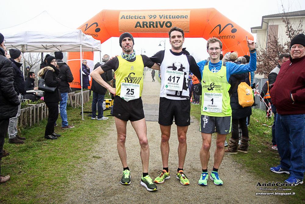 De Ponti vincitore alla Mezza Maratona del Castello