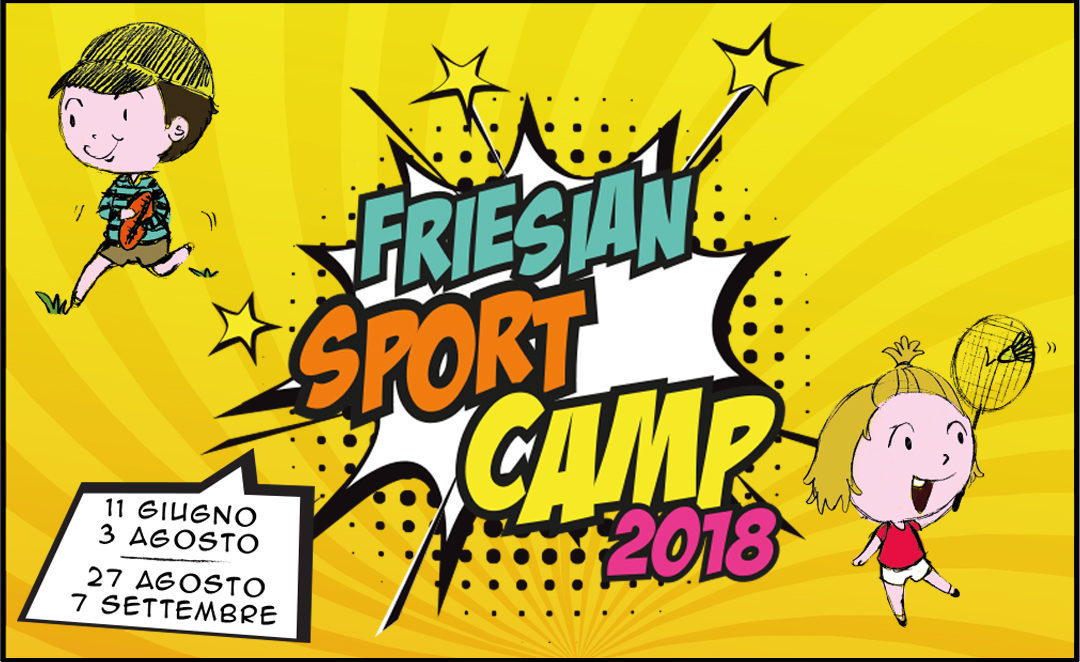 FRIESIAN SPORT CAMP 2018