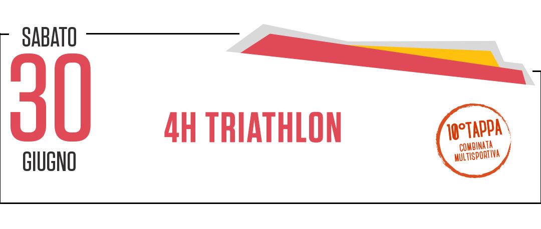 4H TRIATHLON – Sport in Festa 2018
