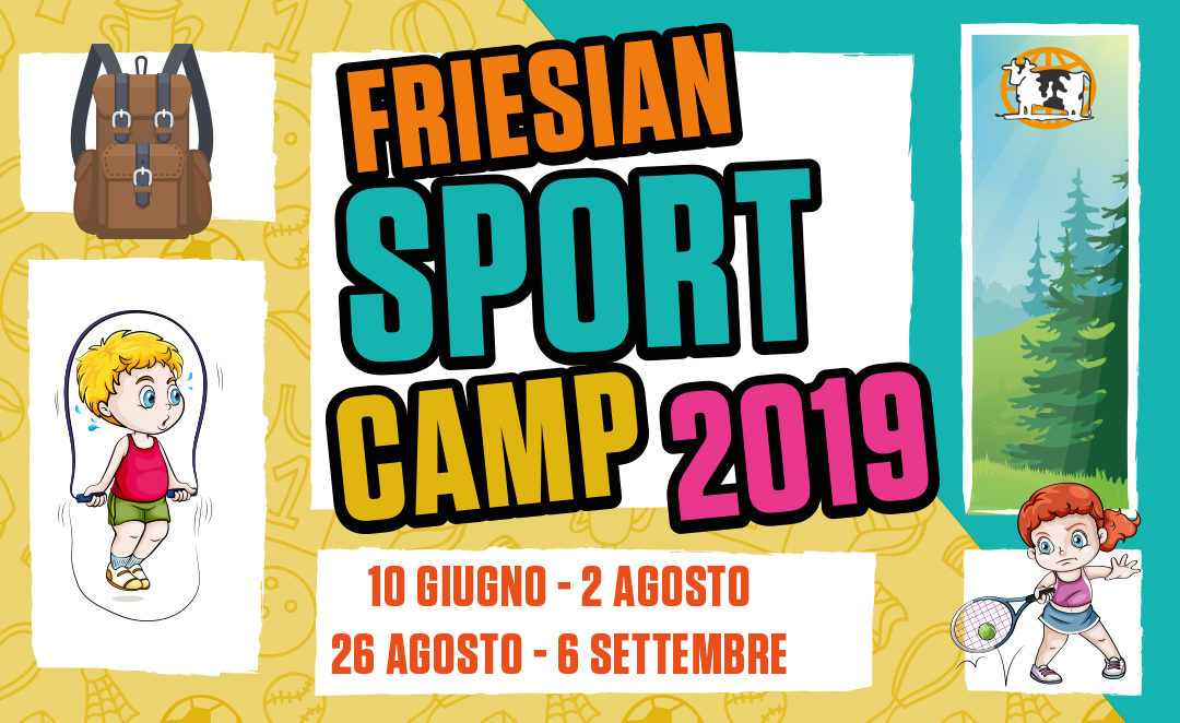 FRIESIAN SPORT CAMP 2019