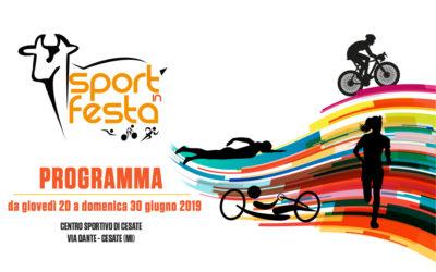Sport in Festa 2019 – Il Programma