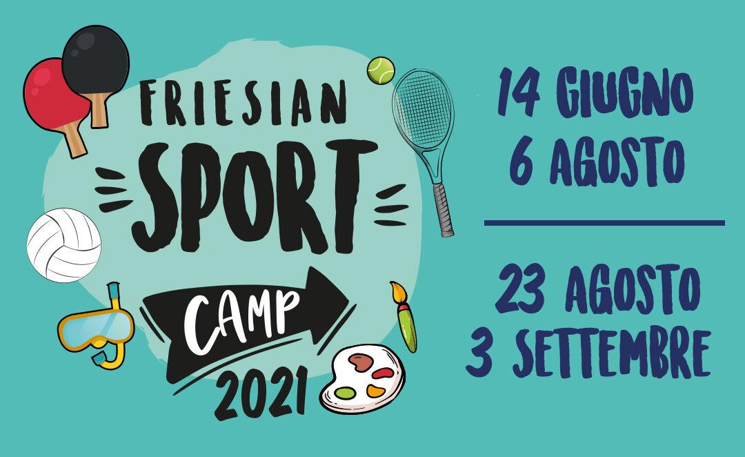FRIESIAN SPORT CAMP 2021